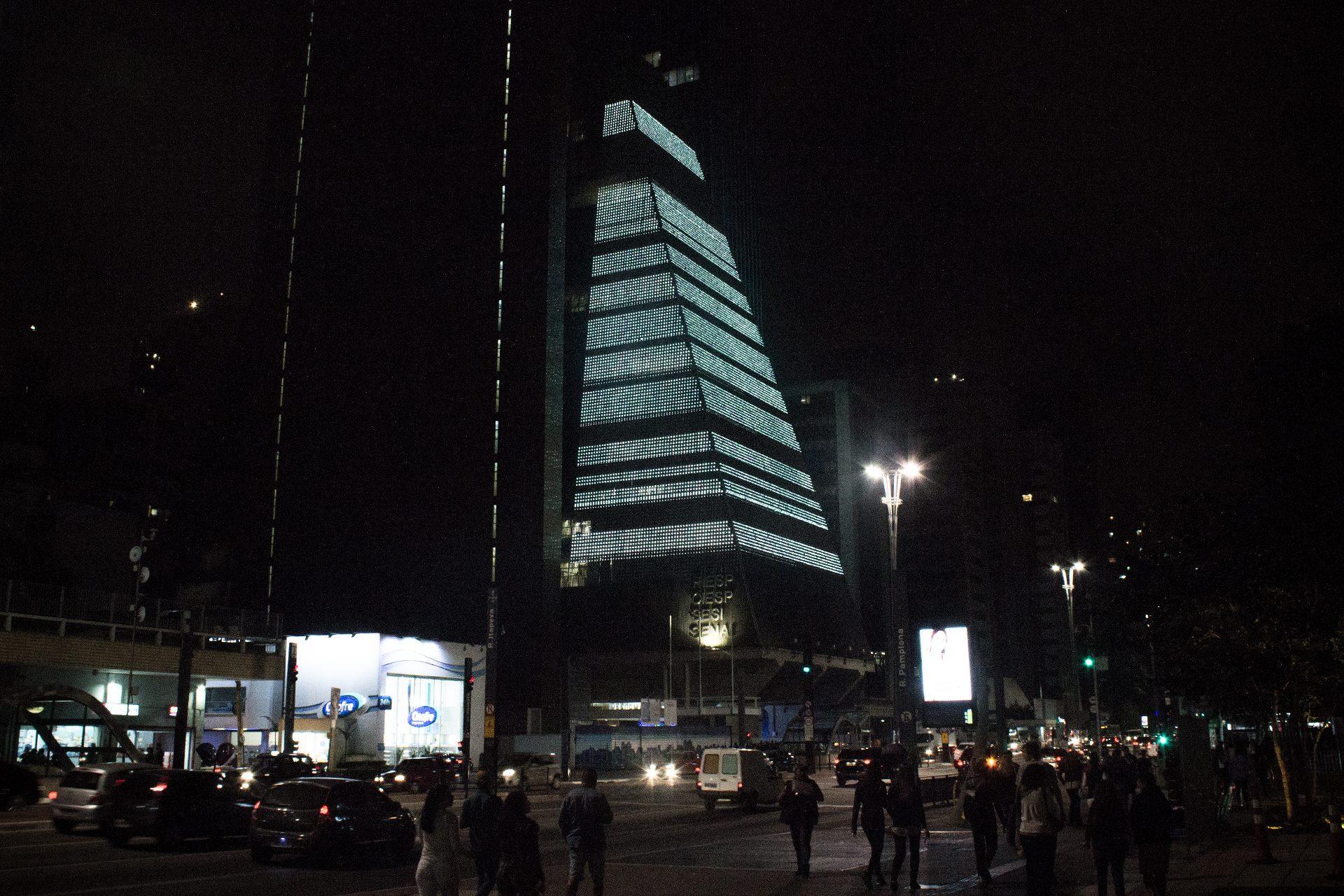 In situ at FIESP Building, São Paulo, Brazil