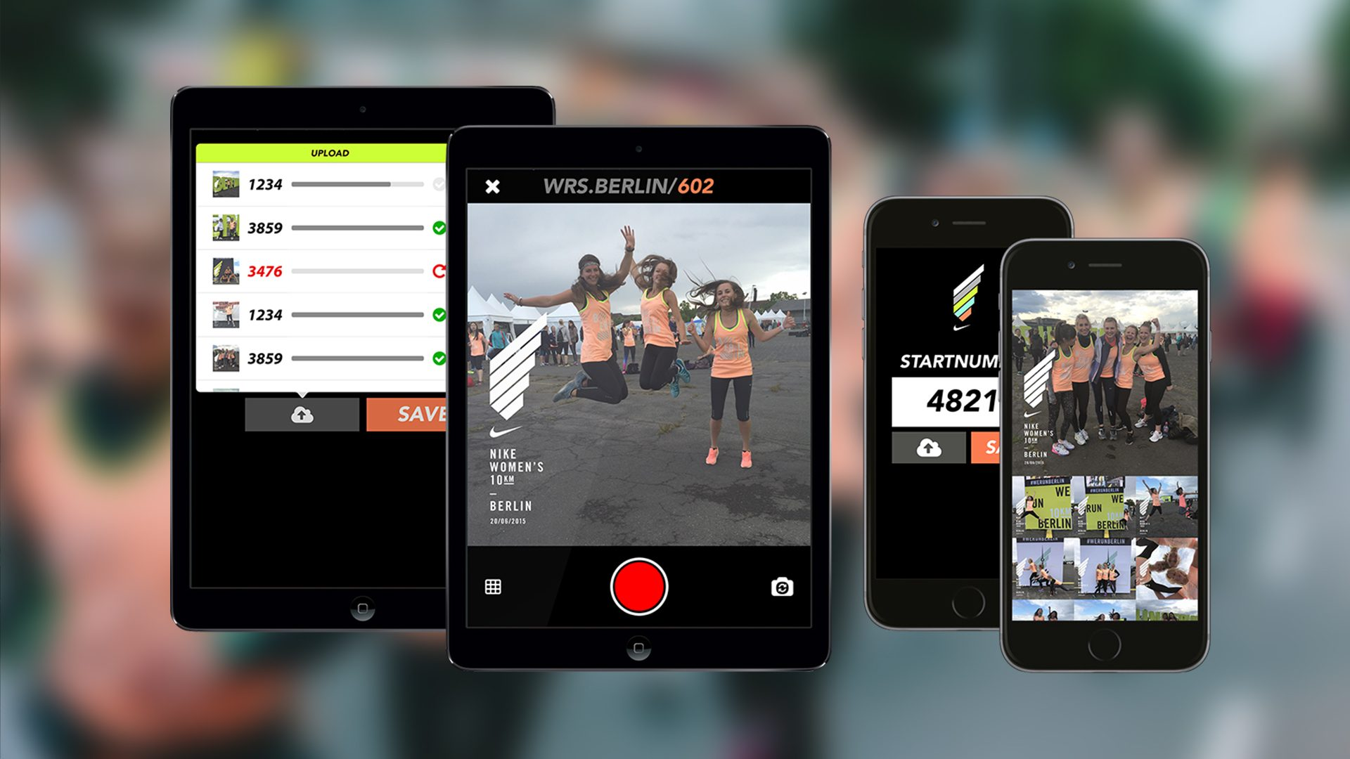 The capturing app for iOS