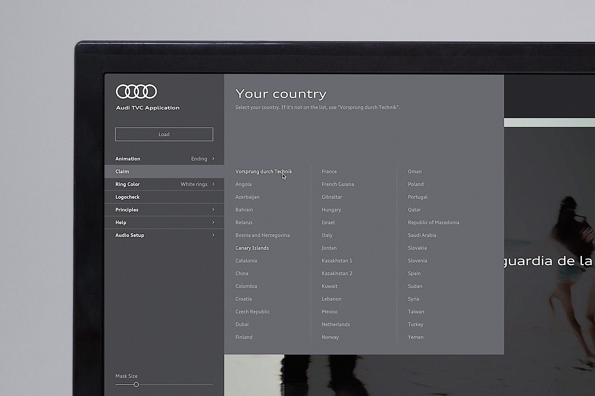 Option to add a country-specific vendor claim to the video sequence
