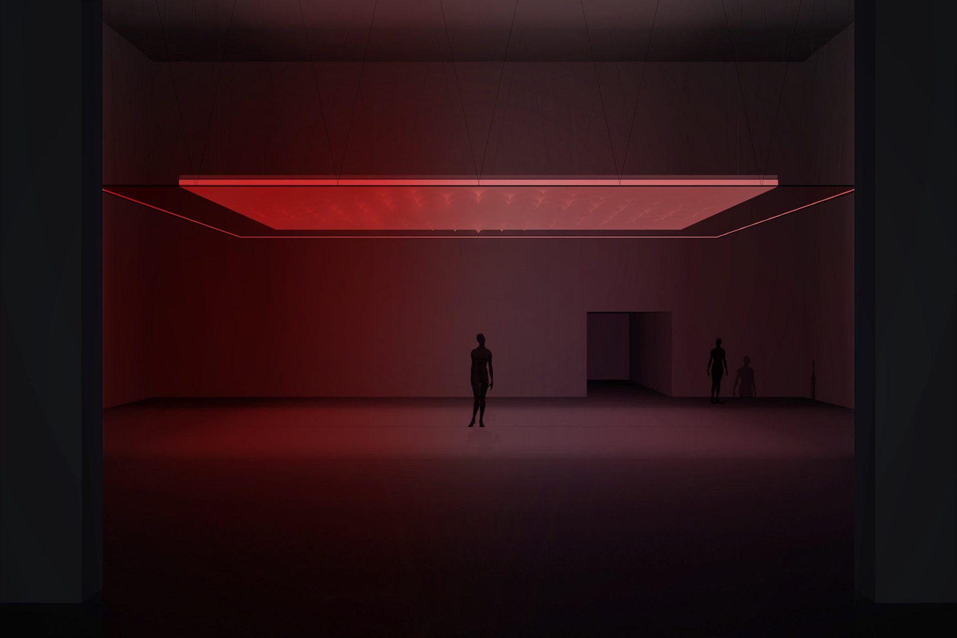 Installation with RGB light setting